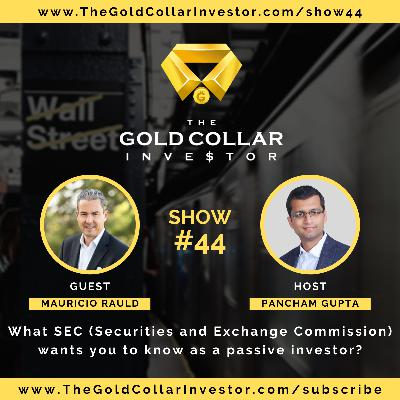 TGCI 44: What SEC (Securities and Exchange Commission) wants you to know as a passive investor?