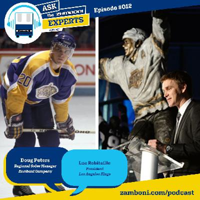 Episode #012: The New State of Hockey with Luc Robitaille