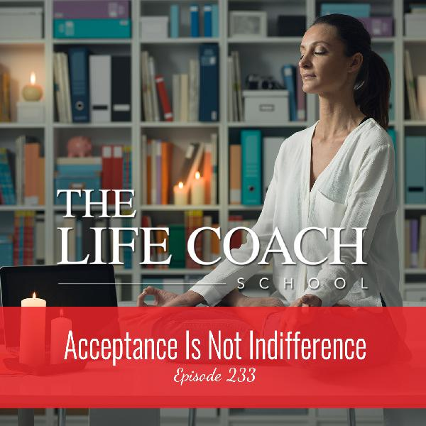 Ep #233: Acceptance Is Not Indifference