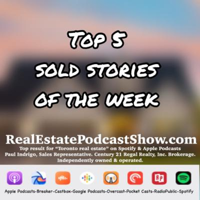 Episode 301: Top 5 Sold Stories of the week for June 19, 2020