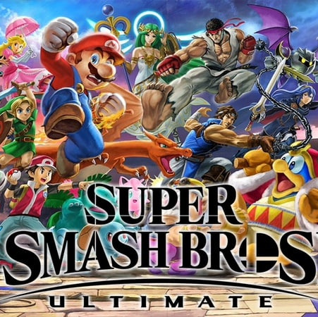 Super Smash Brothers Ultimate!!!