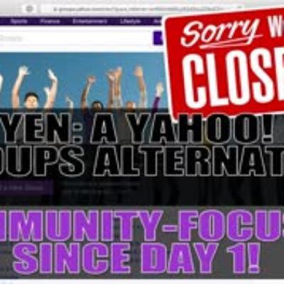 YEN YAHOO! Groups Alternative! - Closing Down Come to YEN.io!