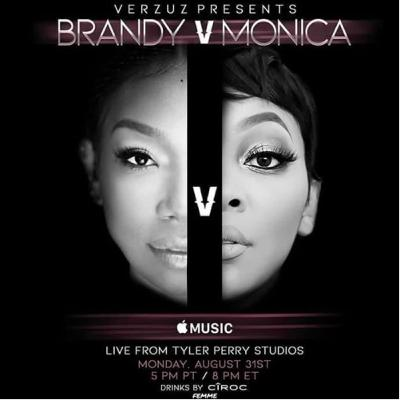 Behind the Scenes Before the Brandy vs Monica Breakdown with Shaquia