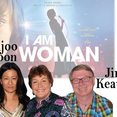 """Harvey Brownstone Interviews Unjoo Moon, Filmmaker, """"I Am Woman"""" & Jim Keaton, President, Helen Reddy Official Fan Club"""
