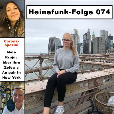 Heinefunk-Folge 074: Nele Krajnc über ihre Zeit als Au-pair in New York