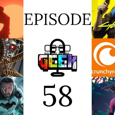Episode 58 (The Game Awards, Future State Batman, Alfred Molina, Cyberpunk 2077, and more)