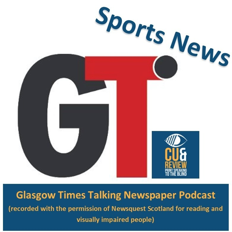 Glasgow Times Sport week ending 9th January 2021