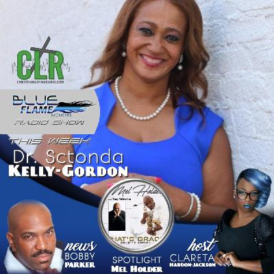 Blue Flame Radio Dr Sctonda Kelly