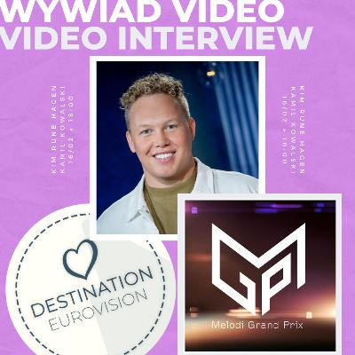 INTERVIEW ► KiiM Rune Hagen (Norway Melodi Grand Prix 2021)