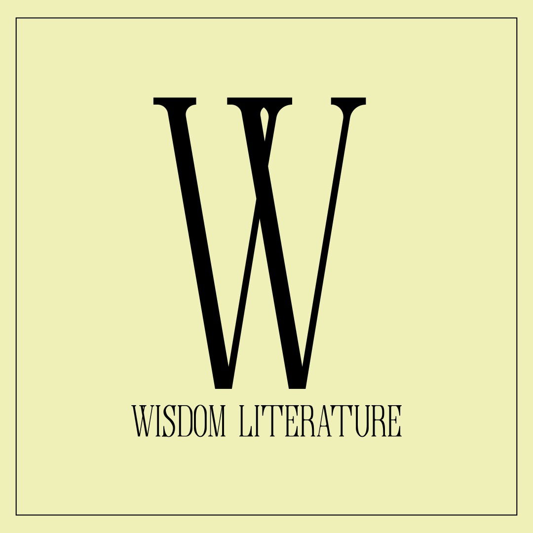 Wisdom Literature: Part 3 - Job