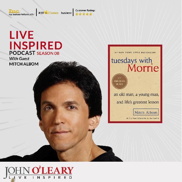 Mitch Albom,  Author of Tuesdays with Morrie S8 Ep 81