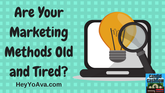 23: Old Tired Marketing Methods and the Unique Approach - The Candid Cashflow Podcast | Work From Home | VA Training | Self Publishing