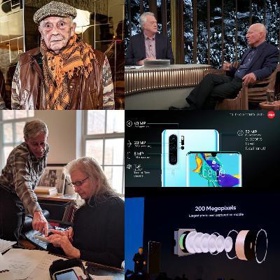 """David Bailey: """"os smartphones tiraram o trabalho dos fotógrafos"""" #FHOXCastNews"""