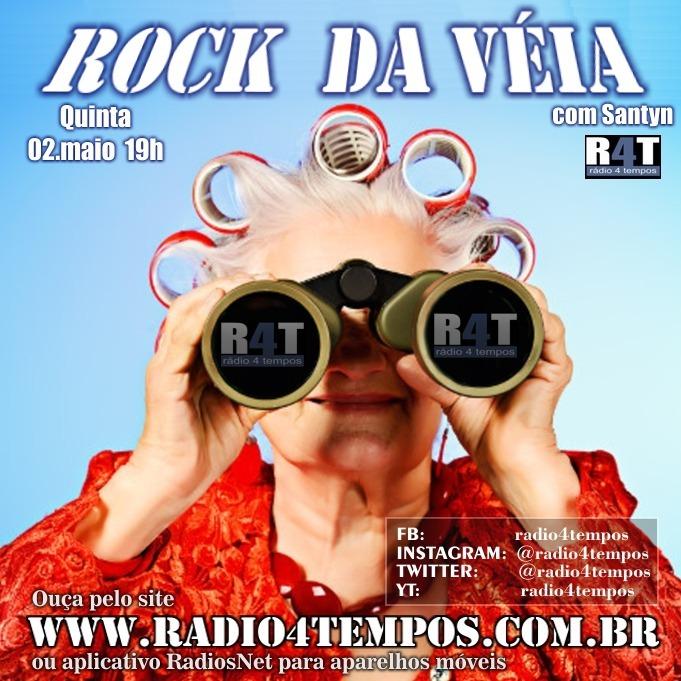 Rádio 4 Tempos - Rock da Véia 55:Rádio 4 Tempos