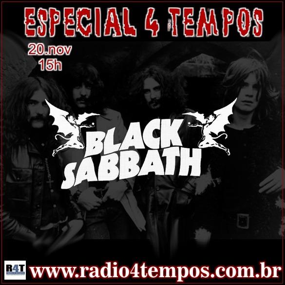 Rádio 4 Tempos - Especial 4 Tempos - Black Sabbath