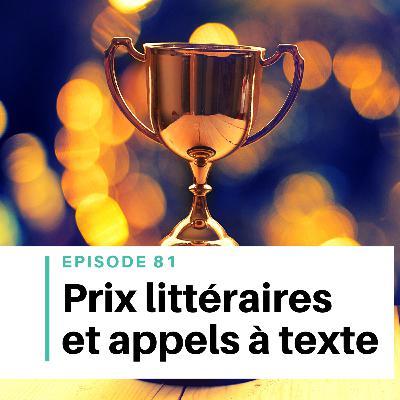 Ep #81 - Concours littéraires et appels à texte