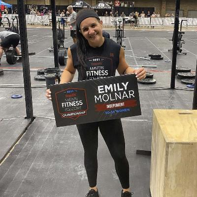Emily Molnar from Addict to Cancer Survivor to CrossFit Competitor