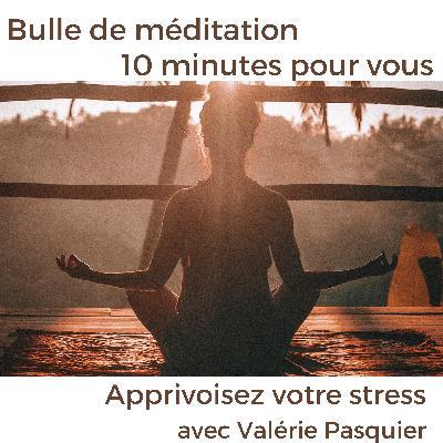 """Apprivoiser son Stress® - Bulle de méditation guidée #5 """"Regarder passer vos pensées"""""""