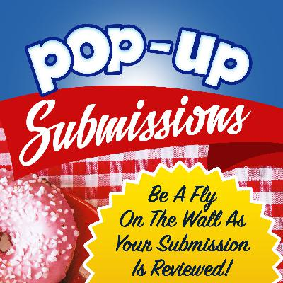 Pop-Up Submissions LIVE with publisher Nii Ayikwei Parkes & Literary Agent Peter Cox