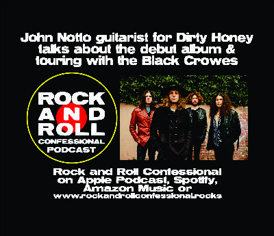 John Notto guitarist for Dirty Honey speaks about recording the bands debut album and touring with the Black Crowes
