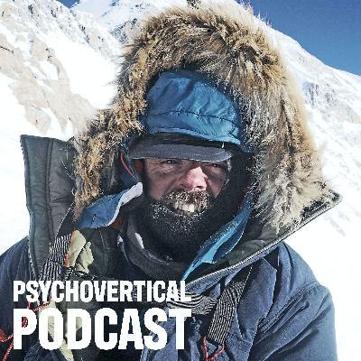 Episode 14: Andy Kirkpatrick: Holy water, sucking teeth and sleeping mats