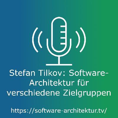 Stefan Tilkov: Software-Architektur für verschiedene Zielgruppen - Live von der OOP mit Lisa Moritz