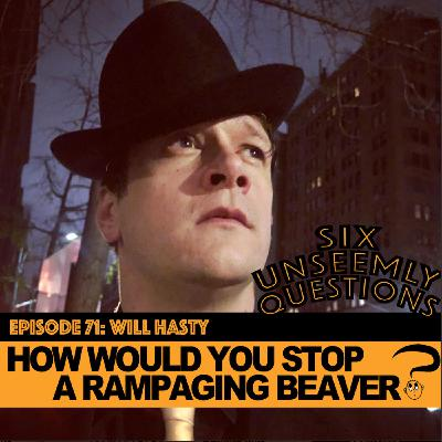 How Would You Stop A Rampaging Beaver?