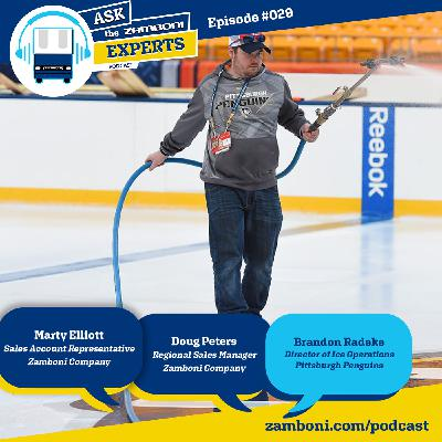 Episode #029: Brandon Radeke - Director of Ice Operations for the Pittsburgh Penguins
