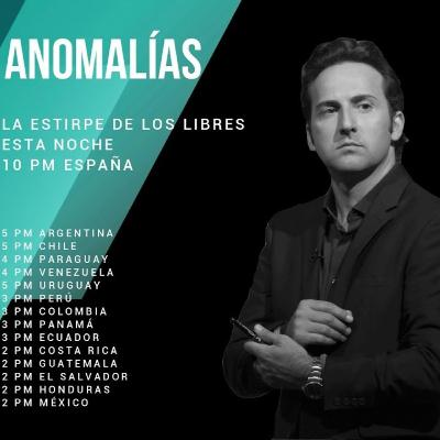 "1x23 ""Anomalías"" por Iker Jiménez #LaEstirpedelosLibres"