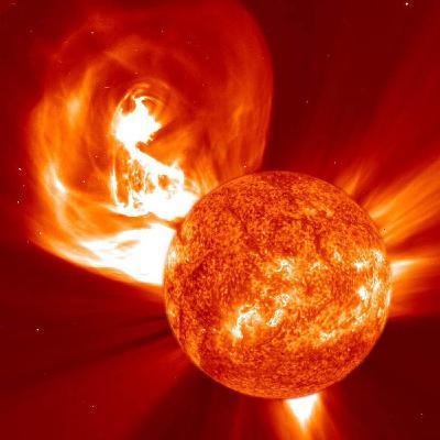 Solar Flares, CME's, and the EMP Threat
