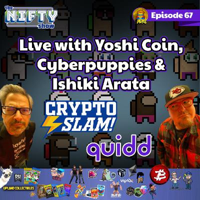 Nifty Show Live with Cryptoslam, Quidd, Imposter Punks