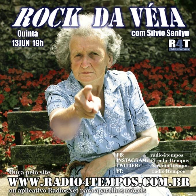 Rádio 4 Tempos - Rock da Véia 59:Rádio 4 Tempos