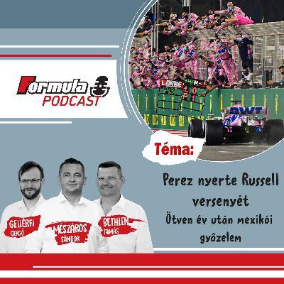 S01EP62 – Perez nyerte Russell versenyét