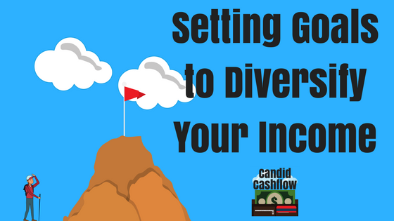 3: Using Goal Setting to Diversify Your Income Streams - The Candid Cashflow Podcast   Entrepreneur   Work From Home   VA