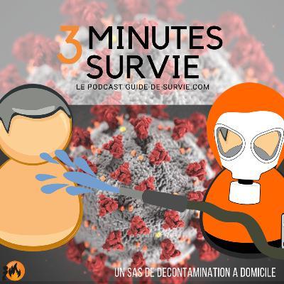 😷 COVID-19 : Comment préparer un petit sas de décontamination à domicile