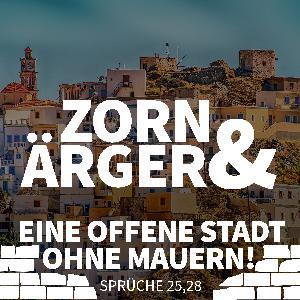 JOBST BITTNER - Zorn & Ärger: Eine offene Stadt ohne Mauern!