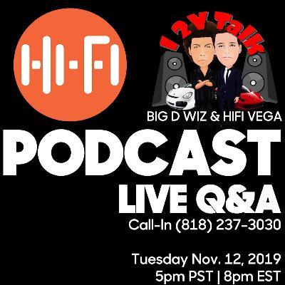Daily HiFi Podcast + 12v Talk - Live Call In