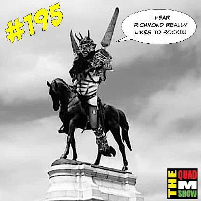 #195 - A Visiting Guest, GWAR statues, Clive Barker, & Wrestling Real Names
