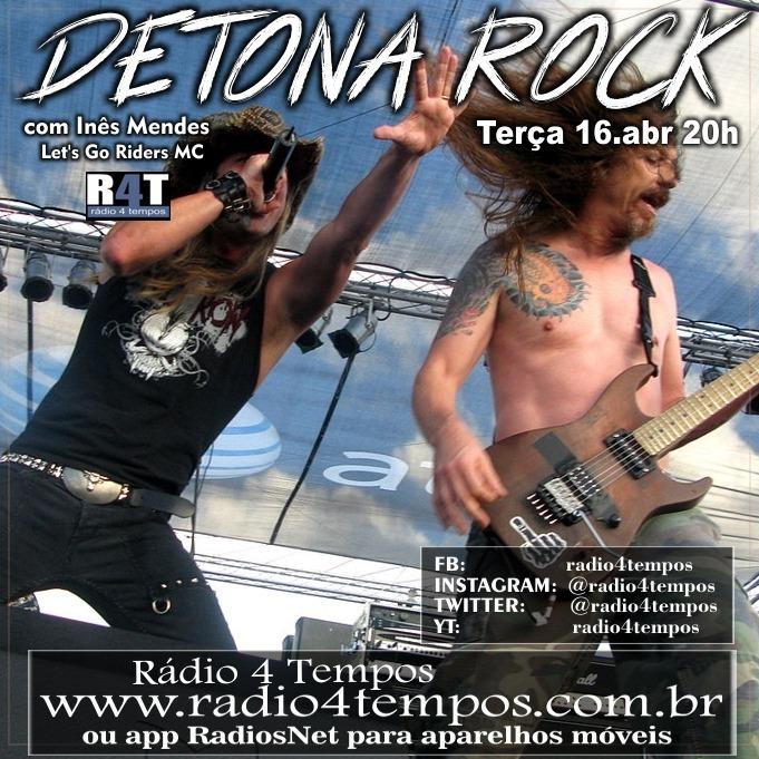 Rádio 4 Tempos - Detona Rock 10:Rádio 4 Tempos