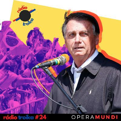 #24 - Repercussão dos atos golpistas: o mundo de olho em Bolsonaro