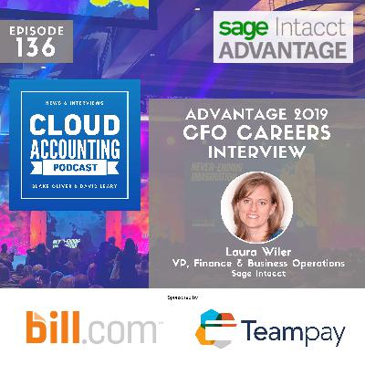 Career path: CPA ➡ CFO ➡ CEO 🎙 Live at Sage Intacct Advantage