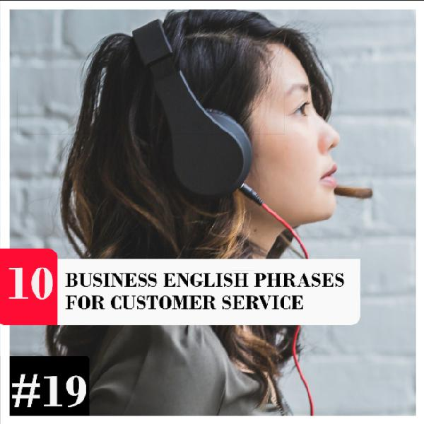 10 Business English Phrases for Customer Service