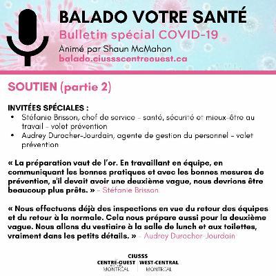 COVID - 19 - Soutien - E086 Partie 2 - Balado Votre Santé