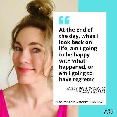 E32 GUEST Deva Dalporto: How to find humor in MOMLIFE