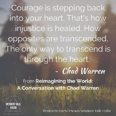 Re-imagining the World: a conversation with Chad Warren
