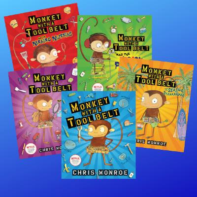 Author Interview: Chris Monroe, Author/Illustrator of the Monkey with a Tool Belt series