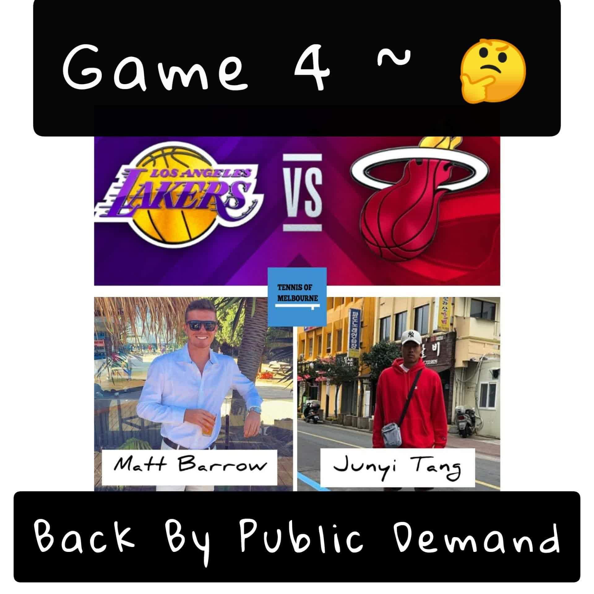 #180 NBA Finals | Matthew Barrows & JungYi Tang