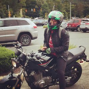 Sarah Burch, Motorcyclist Extraordinaire