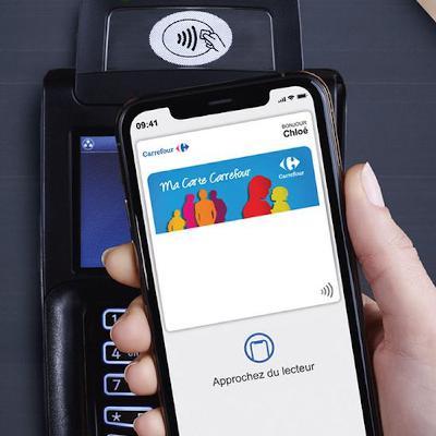 Carrefour devient le premier distributeur européen à intégrer sa carte de fidélité à Apple Wallet
