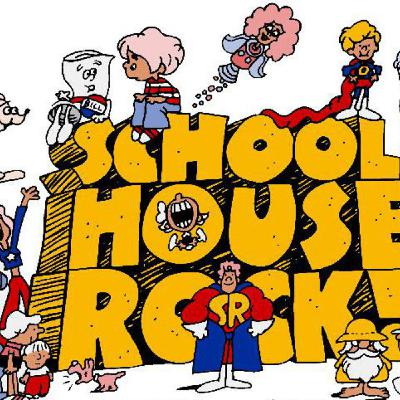 KNOWLEDGE IS POWER!  A Very Suspect Podcast look at School House Rock: Part One